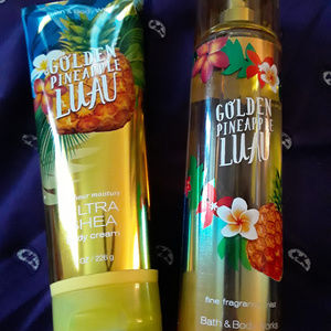 Golden Pineapple Luau bundle